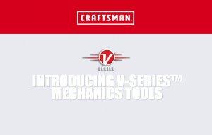 کمپانی کرفتسمن – Craftsman ابزارهای سری V جدید خود را معرفی کرد